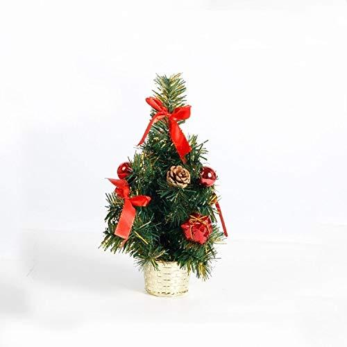 Ebogor for 2 PCS Christmas Pine Cone Ball Gift Bag Decoration (Color : Red)