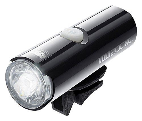 CatEye Volt 200 XC - Luces Frontales y reflectores para Ciclismo, Color Negro