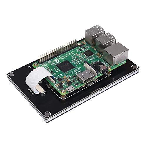 VSLIFE Einfach reparieren Für PITFT50 V1.0 Touchscreen 5 Zoll DSI 800 x 480 Kapazitiver Bildschirm LCD-Anzeige für Oktprosprint für Raspberry Pi 4 3B Plus 2b Druckerteile