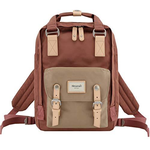 "Himawari School Waterproof Backpack 14.9"" College Vintage Travel Bag for Women,14 inch Laptop for Student(HIM-58#)"