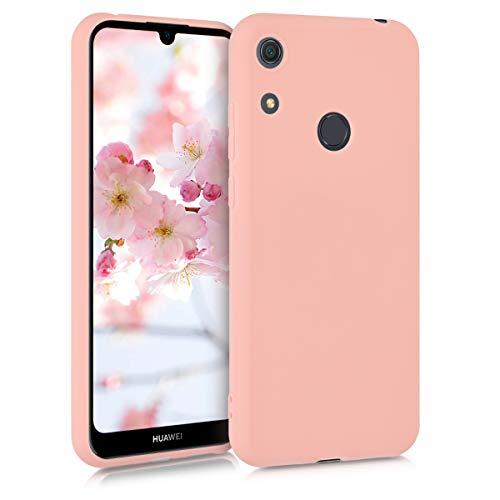 kwmobile Hülle kompatibel mit Huawei Y6s (2019) - Handyhülle - Handy Hülle in Rosegold matt