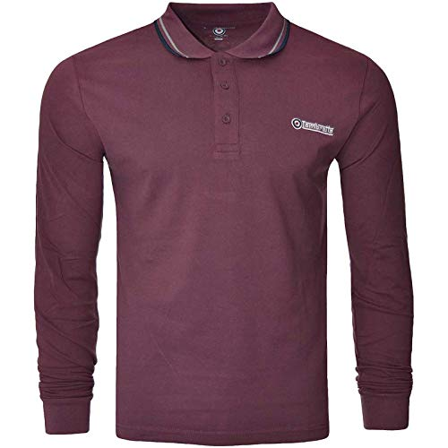 Lambretta Herren Poloshirt, langärmelig -  -  XX-Large