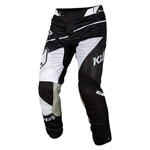 Klim XC Lite 2019 Motocross Hose Weiß/Schwarz 26