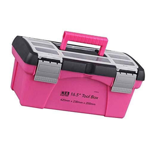 39 en uno Apollo Peque/ño Juego de Herramientas Esenciales para Reparaciones del Hogar PINK RIBBON FOUNDATION Color Rosa