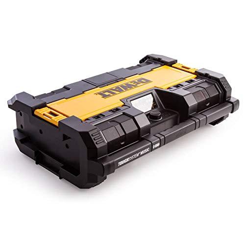 Dewalt DWST1-75663-GB Toughsystem Dab Radio mit 6 Lautsprecher/Bluetooth und USB - schwarz