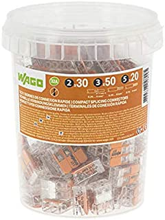 WAGO - Pot de 100 bornes de connexion automatique S221 2,3 et 5 entrées