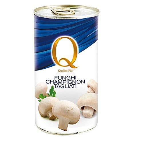Qualità Più funghi champignons Pilze 355 g dose Italienische Gemüse
