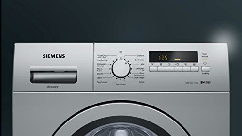 Siemens 7 kg Fully-Automatic Front Loading Washing Machine (WM12K269IN, Silver)