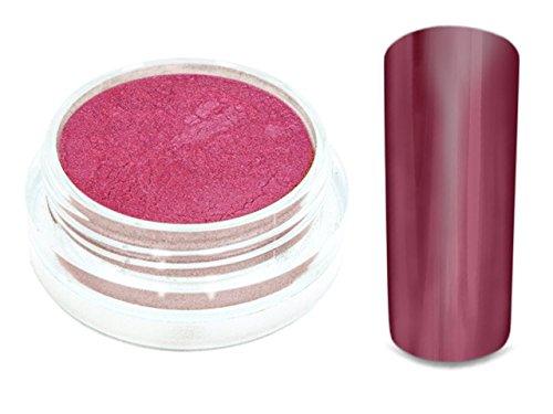 Chrom Pigment Mirror Spiegeleffekt Puder 1g Bardeaux Rot -7621