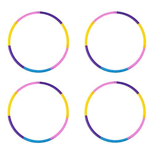 Buy Liberry Kids Hoola Hoop, Detachable Adjustable Plastic Hola Hoop for Kids, Suitable for Beginner...