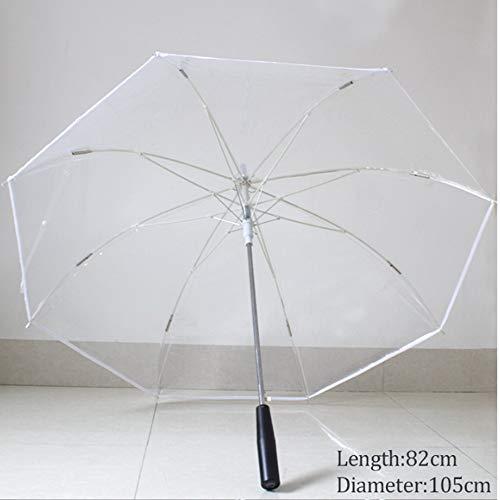 LUOJIN Paraguas Rib Light Blade Estilo Que Cambia