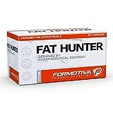 FORMOTIVA FAT HUNTER 60 Cápsulas | Quemador de grasa termogénico fuerte | Pastillas para bajar de peso | Adelgazar | Reducción de tejido graso