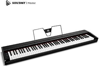 Souidmy 88 Key Full-Size Electric Keyboard Piano