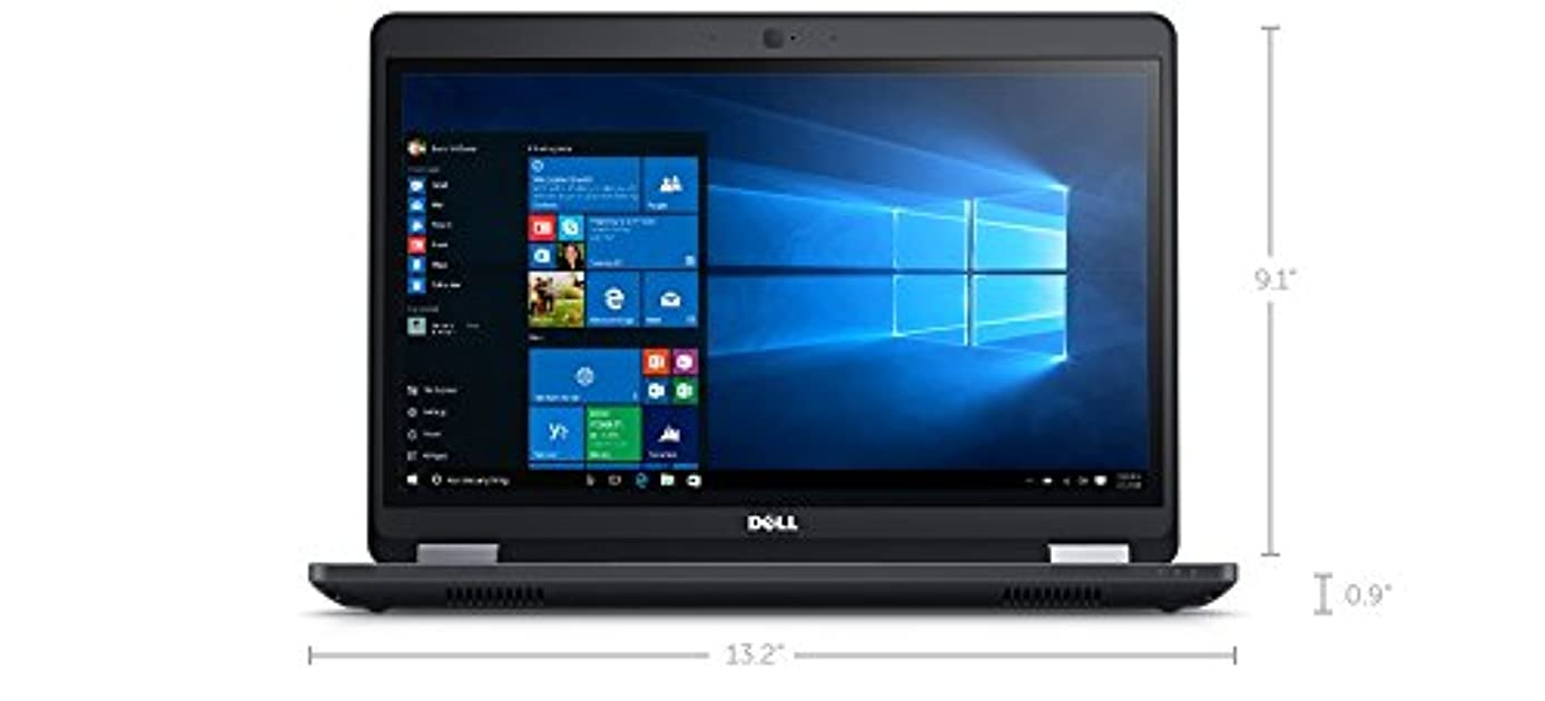 Newest Dell Latitude E5470 HD Business Laptop NoteBook PC (Intel Quad Core i5-6300U, 8GB Ram, 256GB Solid State SSD, HDMI, VGA, WIFI) Win 10 Pro (Renewed) SC Card Reader