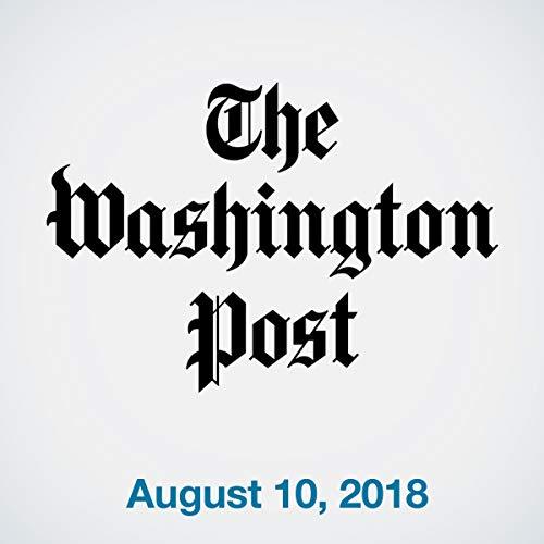 August 10, 2018 copertina