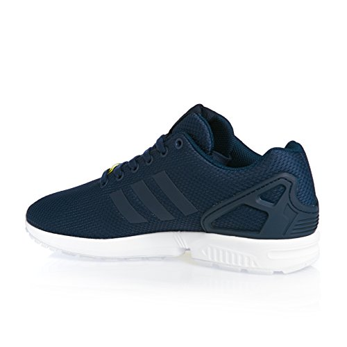 adidas Originals Unisex-Erwachsene ZX Flux Turnschuh, New Navy/New Navy/Running White, 44 EU