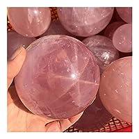 工芸品 スターローズクォーツ球天然石とミネラル癒しのクリスタルgemstonesボールレイキのためのギフト 装飾品 (Size : 30-40mm)