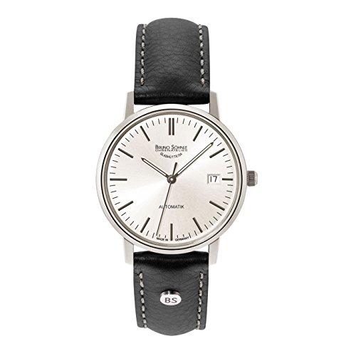 Bruno Söhnle Herren Analog Automatik Uhr mit Leder Armband 17-12174-247