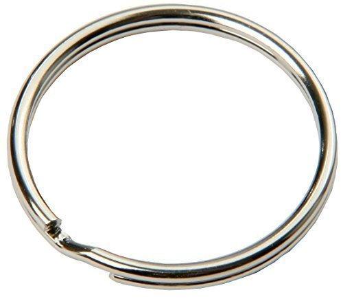 SBS® Schlüsselring | Ø 12 mm | 100 Stück | Stahl | glänzend und abgerundet | Schlüsselanhänger Schlüsselringe Schlüssel Ring