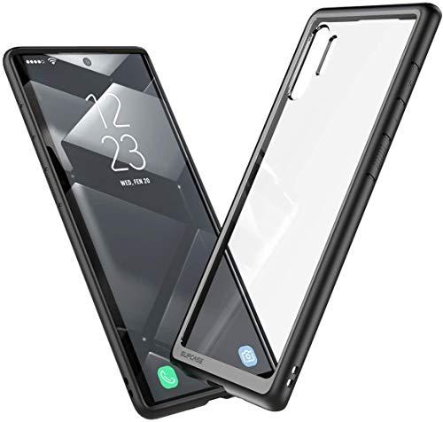 SUPCASE Hülle für Samsung Galaxy Note 10+ Plus Hülle Premium Handyhülle Transparent Schutzhülle Backcover [Unicorn Beetle Style] 2019 Ausgabe 6.8 Zoll, Schwarz
