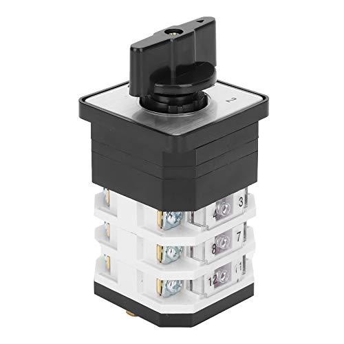 Interruptor de cambio de 3 capas de 3 posiciones Interruptor de leva giratorio 220-380V 16A(LW12D-164.0723.3)