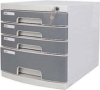 Classeurs Bureau Multi verrouillables Layer fichiers de Stockage et de Verrouillage du tiroir Cabinet de Bureau en Plastiq...