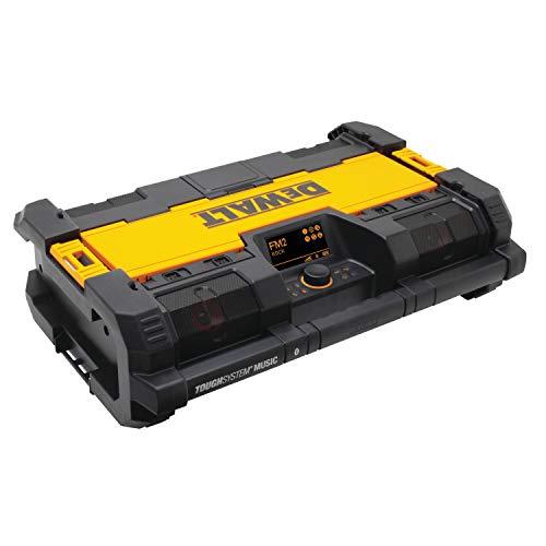 DEWALT - Radio de Chantier Tough System - DWST1-75659-QW - Poste Radio Chantier Avec Réglages DAB+ et Tuner AM/FM - Système Bluetooth - Entrée AUX et port USB