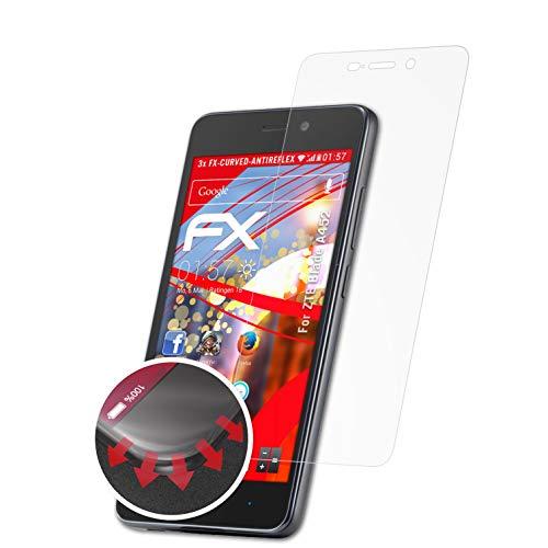 atFolix Schutzfolie kompatibel mit ZTE Blade A452 Folie, entspiegelnde & Flexible FX Bildschirmschutzfolie (3X)