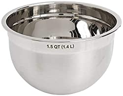 Tovolo 1.5 qt Stainless Steel Pot in Pot Bowl