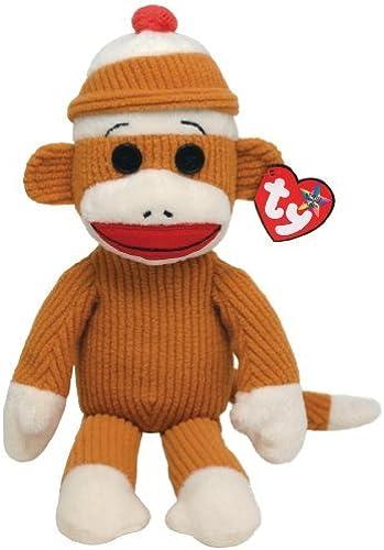 Ty Beanie Buddies Socks Monkey (Tan Corduroy) by Ty Beanie Buddies
