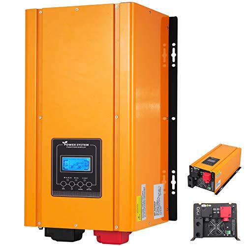 Mophorn Inversor de Baja Frecuencia 3000W 12V Inversor de Energía Fuera de Red de Onda...