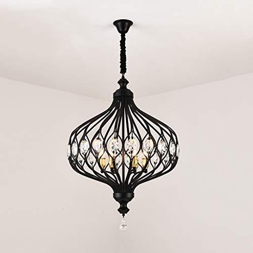 SPNEC Iluminación de araña de Cristal Moderna for la Cocina Dormitorio Art Deco LED Lámparas suspendidas de Techo de araña