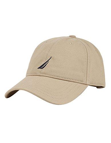 Nautica H71055 Gorra de béisbol, Marrón (Khaki), One Size (Tamaño del Fabricante:OSZ) para Hombre