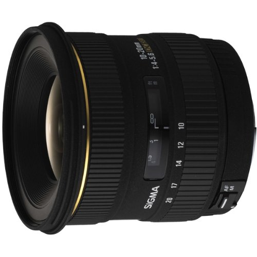Sigma Wide Angle 10-20mm f/4-5.6 EX DC HSM Autofocus Lens for Digital SLR