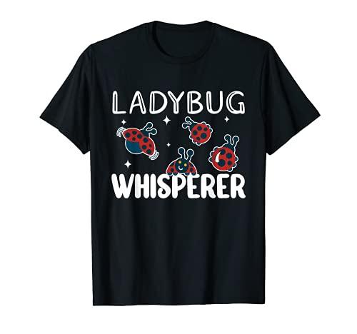 Ladybug Whisperer - Disfraz de mariquita entomlogo para nias Camiseta