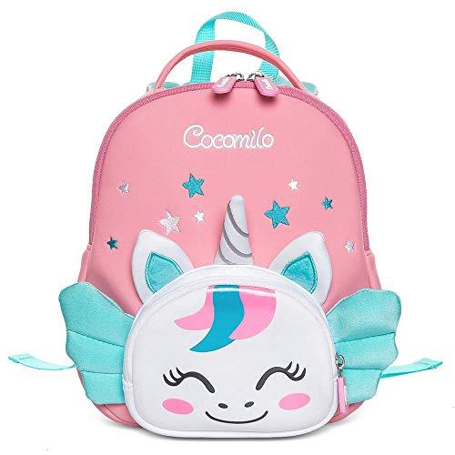 Cocomilo Rucksack Kinder Kindergarten Mädchen Jungen Baby Schultasche Schule Einhorn 1 L