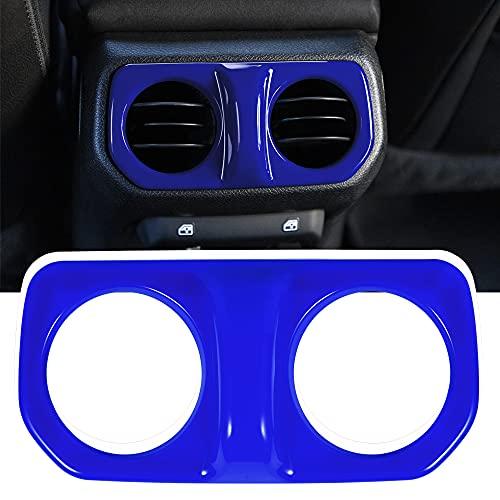 ABS Rear Back AC Air Vent Outlet Armrest Box Air Conditioning Vent Decoration Fit for Wrangler JL JLU & Gladiator JT 2018-2021