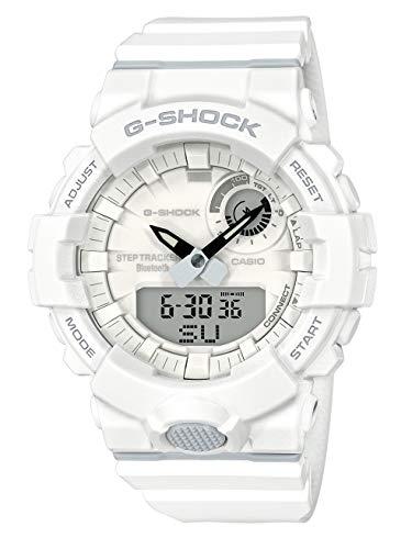 Casio Reloj Digital para Hombre de Cuarzo con Correa en Resina GBA-800-7AER, Blanco