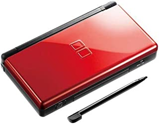Nintendo DS Lite Console with Top Spin 2 Bundle - Crimson and Black (Renewed)