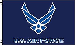 Quality Standard Flags US Air Force Wings Flag, 3 by 5'