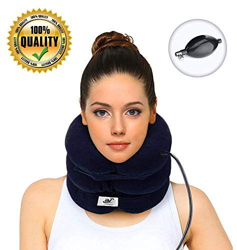 Hodilu Cervical Neck Traction Device – Improve Spine Alignment to Reduce Neck Pain – Cervical...