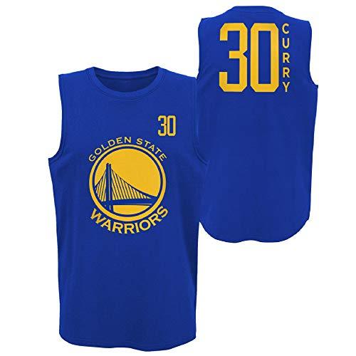 NBA Shirt All Net Basic Tank Golden State Warriors Stephen Curry Trikot Jersey Basketball (L)