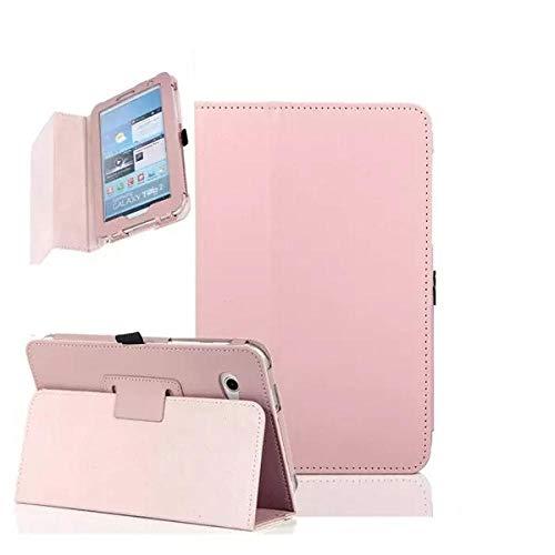 Funda con tapa para Samsung Galaxy Tab 2 7 'GT-P3100 P3110 y P3113 con función atril para Samsung Tab 2 P3100, color rosa
