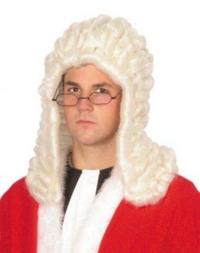 Perruque: les juges (en anglais) White [Jouet]
