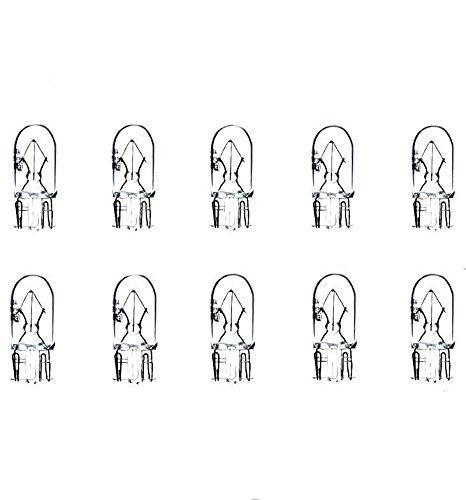 10x W5W T10 12V 5W W2,1x9,5d LAMPEN FALTSCHACHTEL 10 STÜCK STANDLICHT POSITIONSLICHT KENNZEICHEN- INNEN- FUSSRAUMBELEUCHTUNG Jurmann® LongLife & Erschütterungsfest