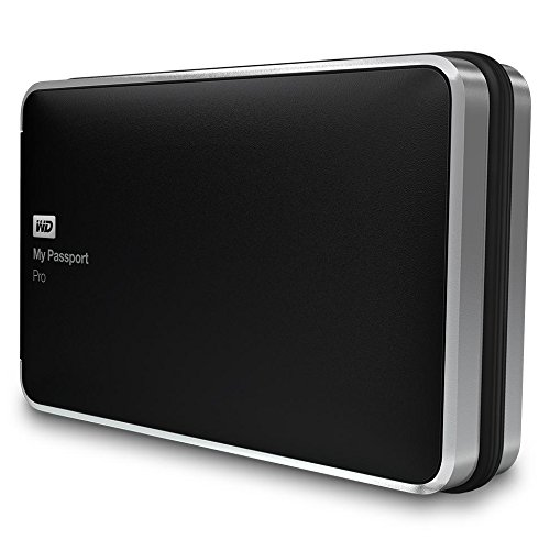 WD My Passport Pro Portable RAID Storage with Integrated Thunderbolt Cable - 2 x HDD Supported - 2 TB Installed HDD Capacity - RAID Supported 0, 1, JBOD, 1, JBOD - 2 x Total Bays - Portable