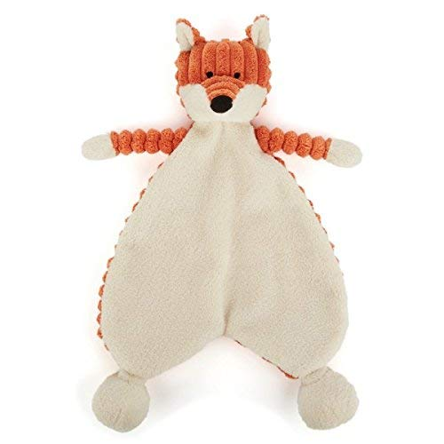 Jellycat Roy Baby Fox Soother Soft Toy (SRS4FX)