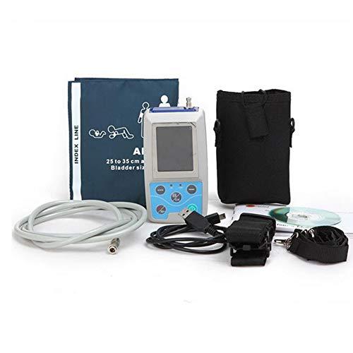 WANG Ambulatorio de presión sanguínea Monitor, 24 Horas ambulatorio de presión sanguínea Monitor Holter Mapa Holter BP Monitor con Software Contec