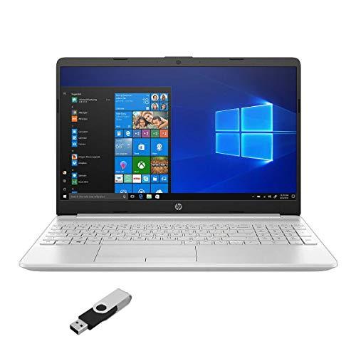 "2021 HP High Performance Laptop 15.6"" HD Touch 11th Intel i5-1135G7 with Iris Xe 12GB DDR4 1TB HDD Webcam WiFi Bluetooth RJ-45 LAN Backlit Keyboard Win 10 Home w/ RATZK 32GB USB Drive"
