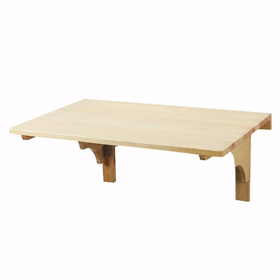 大使館鎮静剤ソファーランドリールーム/ホームバー用の折りたたみ式ワークベンチ、省スペース設計、オプションのサイズの木製テーブル (Size : L39.3×W19.7in)